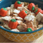 Salted Caramel and White Chocolate Puppy Chow